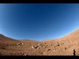Закат и расвет на марсе